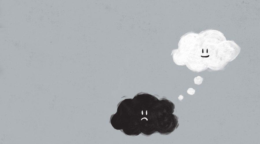 Nube negra triste y blanca sonriente-429208 (1)