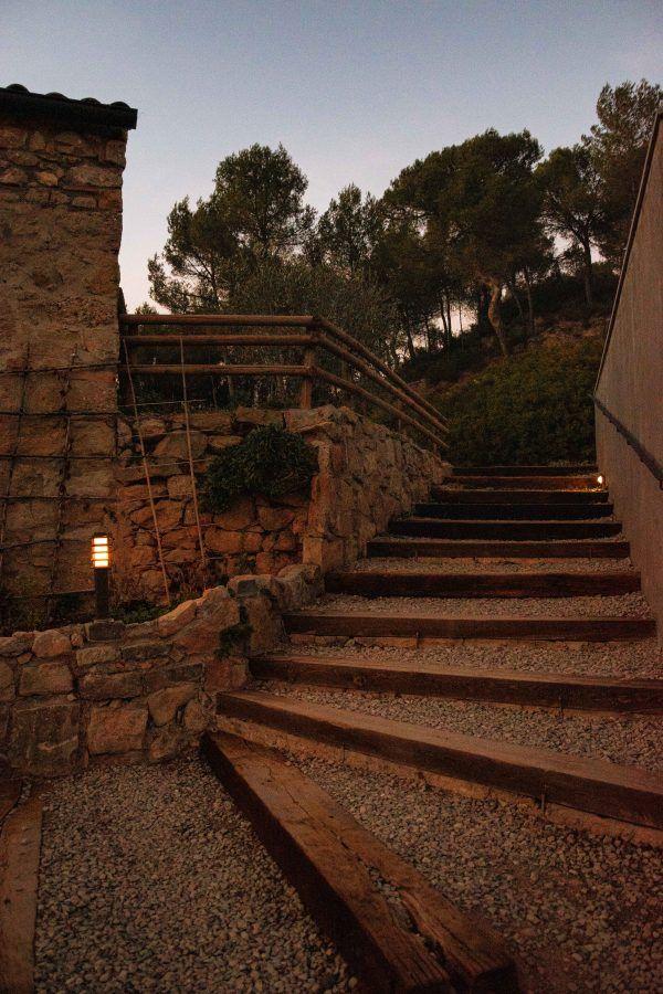 Escalera masia